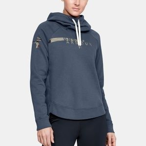 Under Armour Favorite Fleece Camo Cowl Hoodie